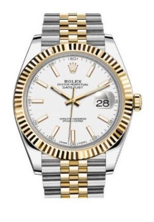 DATEJUST STEEL AND YELLOW GOLD 126333-0016, 41MM