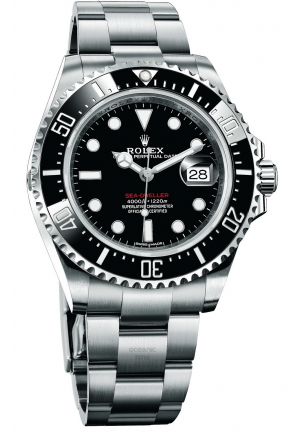 SEA-DWELLER STAINLESS STEEL 126600-0001, 43MM