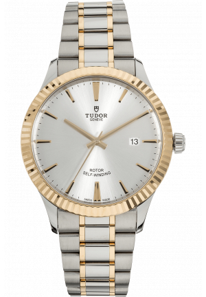 Tudor Style 41mm in Steel/Gold