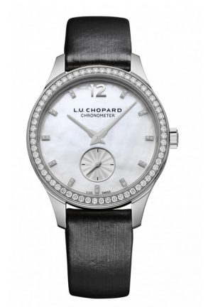 CHOPARD L.U.C XPS 35 mm 18-carat white gold and diamonds