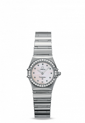 Omega Constellation Ladies with Diamonds