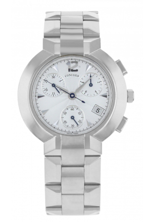 Concord La Scala Chronograph Stainless Steel