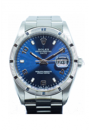 Rolex Oyster Perpetual Date 35mm in Stainless Steel