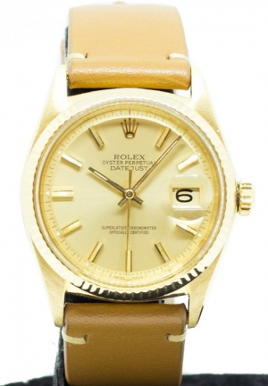 Rolex Datejust in Yellow Gold