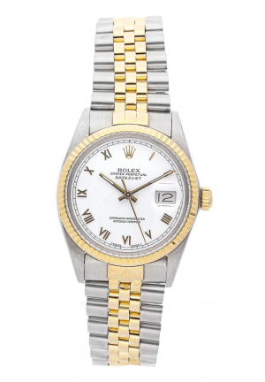 Rolex Datejust in Half Yellow Gold