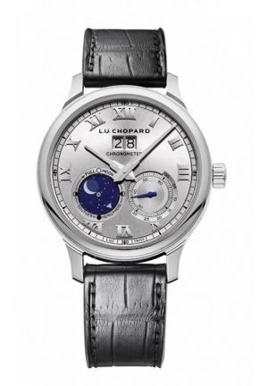 CHOPARD L.U.C Lunar Big Date 18-carat white gold 42mm