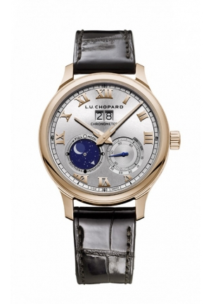 CHOPARD L.U.C Lunar Big Date 18-carat rose gold 42mm