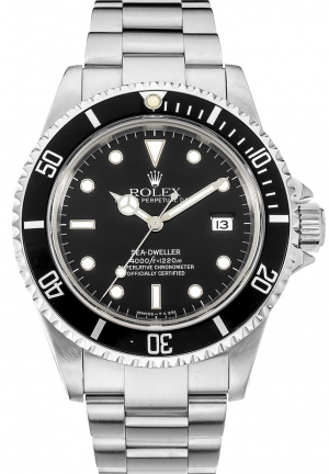 "Rolex Sea-Dweller ""Tritium Dial"" in Stainless Steel"