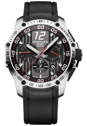 CHOPARD Superfast Chrono stainless steel 45mm
