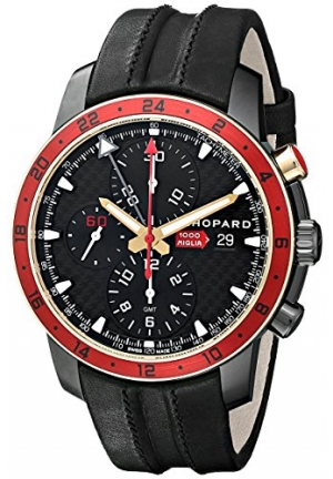 CHOPARD Mille Miglia Zagato 18-carat rose gold and DLC blackened stainless steel LIMITED EDITION 42.5mm