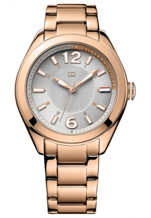 TOMMY HILFIGER Women's Rose Gold-Tone Stainless Steel Bracelet 41mm