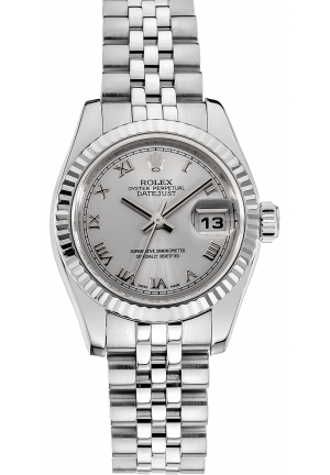 ROLEX 18K White Gold and Stainless Steel Datejust Automatic