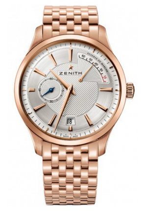 CAPTAIN POWER RESERVE SILVER DIAL ROSE GOLD POLISHED 40MM