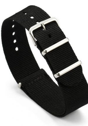 18mm 20mm 22mm Nylon Strap Military Army Bonded Fabric Watch Band