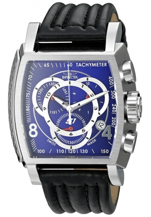 Invicta Men's S1 Rally Analog Display Swiss Quartz Black Watch