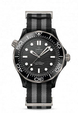 OMEGA DIVING CERAMICS BLACK AUTOMATIC