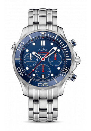 Omega Seamaster Diver 300M Co‑Axial Master Chronometer Chronograph, 44 mm