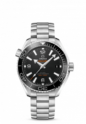 OMEGA SEAMASTER STAINLESS STEEL BLACK AUTOMATIC
