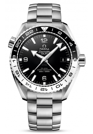 SEAMASTER PLANET OCEAN 600 M OMEGA CO-AXIAL MASTER CHRONOMETER GMT 21530442201001, 43.5 MM