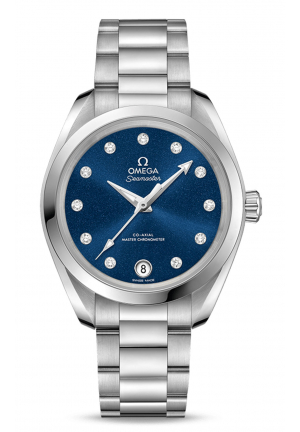 SEAMASTER AQUA TERRA 150M OMEGA CO-AXIAL MASTER CHRONOMETER 22010342053001,34 MM