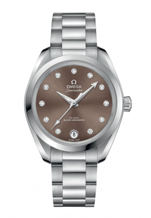 SEAMASTER AQUA TERRA 150M OMEGA CO-AXIAL MASTER CHRONOMETER 22010342063001, 34 MM
