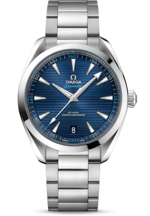 OMEGA SEAMASTER STAINLESS STEEL BLUE AUTOMATIC