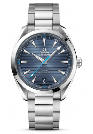 SEAMASTER AQUA TERRA 150M MASTER CO-AXIAL BLUE DIAL STAINLESS STEEL 22010412103002
