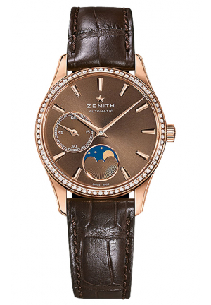 HERITAGE AUTOMATIC BROWN DIAL LADIES WATCH 33MM