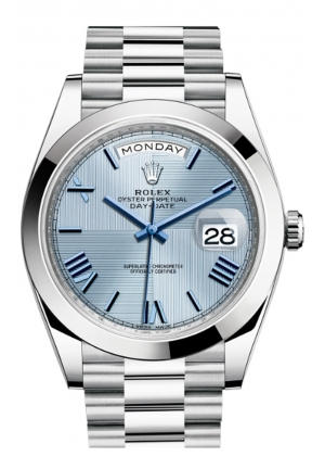 DAY-DATE 40 OYSTER PLATINUM 228206-0001, 40MM