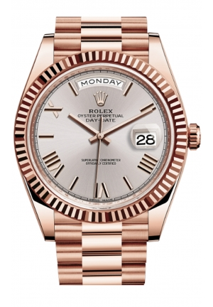 DAY-DATE 40 OYSTER EVEROSE GOLD 228235-0001, 40MM