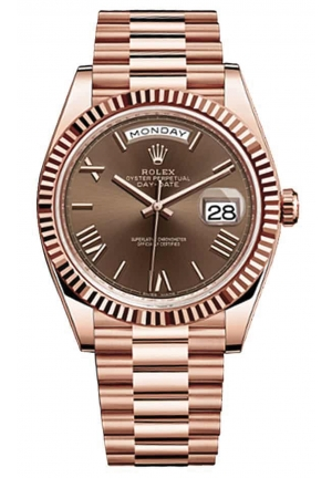 DAY-DATE 40 OYSTER EVEROSE GOLD 228235-0002, 40MM
