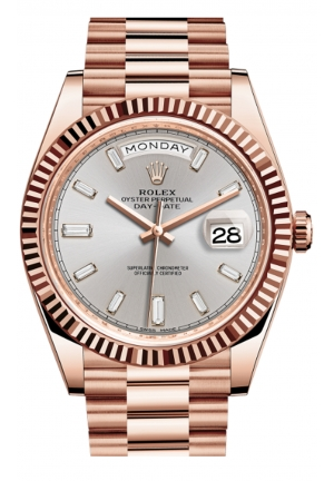 DAY-DATE 40 OYSTER EVEROSE GOLD 228235-0004, 40MM