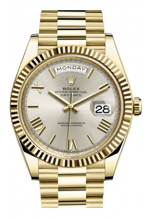 DAY-DATE 40 OYSTER YELLOW GOLD 228238-0002, 40MM