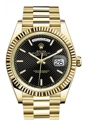 DAY-DATE 40 OYSTER YELLOW GOLD 228238-0007, 40MM