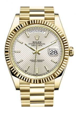 DAY-DATE 40 OYSTER YELLOW GOLD 228238-0008, 40MM