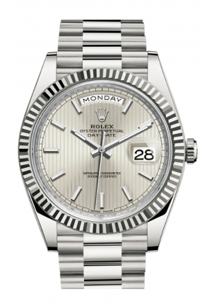 DAY-DATE 40 OYSTER WHITE GOLD 228239-0001, 40MM