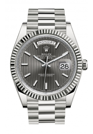 DAY-DATE 40 OYSTER WHITE GOLD 228239-0004, 40MM