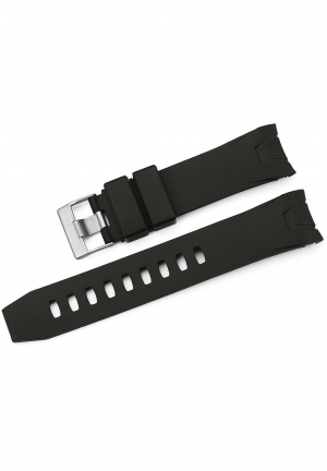 22mm Rubber Curved end Watch Band Omega Seamaster