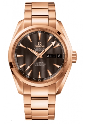 SEAMASTER AQUA TERRA 150M OMEGA CO-AXIAL 18K RED GOLD MEN'S WATCH 23150392202001 , 38.5MM
