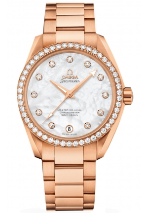 SEAMASTER AQUA TERRA 150 M OMEGA MASTER CO-AXIAL LADIES WATCH 23155392155001 , 38.5 MM