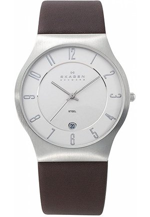 Men's Brown Leather Strap 37mm