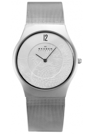 SKAGEN DENMARK Men's Dragon Year Silver-tone Watch