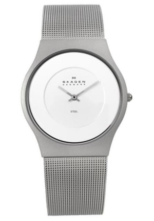 Skagen Steel Analog Silver Dial Men's Watch