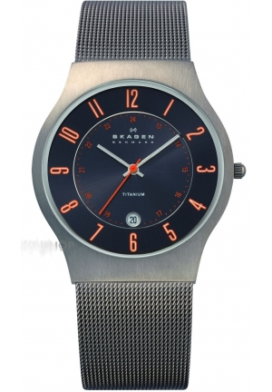 SKAGEN MEN'S CLASSIC TITANIUM WATCH