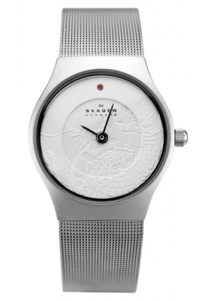 Skagen 233XSSS1-DR Dragon Year Silver-tone Ladies Watch