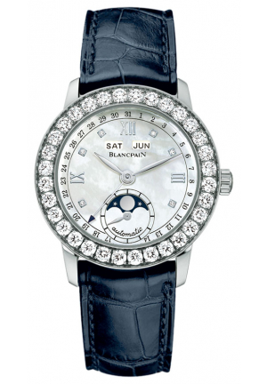 LEMAN LADIES MOONPHASE & COMPLETE CALENDAR 34MM