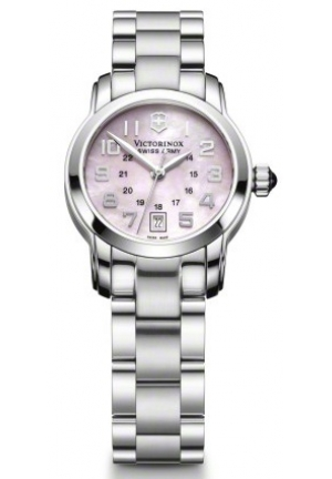 VICTORINOX SWISS ARMY Women's Vivante Mother-of-Pearl Pink Dial Watch 241056 37mm