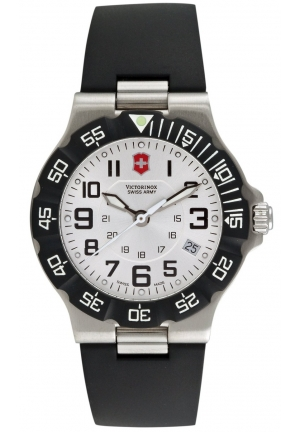 VICTORINOX SWISS ARMY Men's Summit XLT Silver Dial Watch 241345 39mm