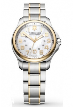 Women's Officers Ladies Mother-of-Pearl Dial Watch 241364 32mm