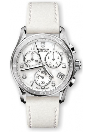 VICTORINOX SWISS ARMY Women's Classic White Mother-Of-Pearl Dial Watch 241418 41mm